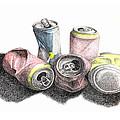 Cans Sketch by Conor O'Brien