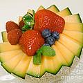 Cantaloupe Breakfast by Iris Richardson