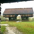 Cantilever Barn In Smokey Mtn Natl Pk by Bj Hodges