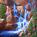 Canyon Cascade by Frank Wilson