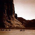 Canyon De Chelly by Edward S Curtis