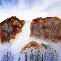 Canyon Falls by Patricia Novack