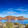Canyon Lake Panorama by Jo Ann Snover