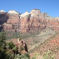 Canyon Overview Zion Park by Christiane Schulze Art And Photography
