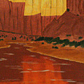 Canyon Reflection by Don Monahan