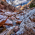 Canyon Stream Winterized by Christopher Holmes