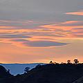 Canyon Sunset by AJ  Schibig