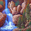 Canyon Waterfall by Frank Wilson