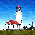 Cape Blanco Lighthouse by Elaine Plesser