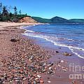Cape Breton Island Aspy Bay by Thomas R Fletcher