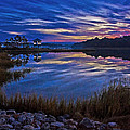 Cape Charles Sunrise by Suzanne Stout