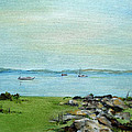 Cape Cod  Boats by Judith Rhue