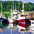 Cape Cod Harbor  by Allen Beatty
