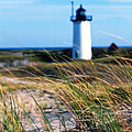 Cape Cod Lighthouse In Prowincetown  At  Summer Time by Miro Vrlik