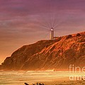 Cape Disappointment After The Storm by Larry Whiting