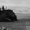 Cape Disappointment Light - Bw by Charles Robinson