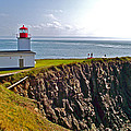 Cape D'or Lighthouse-ns by Ruth Hager