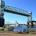 Cape Fear Draw Bridge  by Bob Sample