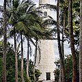 Cape Florida Historic Lighthouse by Deb Fruscella