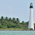 Cape Florida Light by Bradford Martin