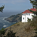 Cape Foulweather Lookout by Betty Depee
