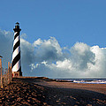 Cape Hatteras Lighthouse Nc by Skip Willits