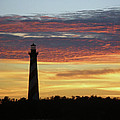 Cape Hatteras Lighthouse At Sunset by Mother Nature