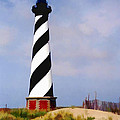 Cape Hatteras Lighthouse by Elaine Plesser