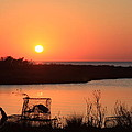 Cape Hatteras Sunset-north Carolina by Mountains to the Sea Photo