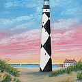 Cape Lookout Sunset by Fran Brooks