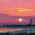 Cape May Sunset by Barbara Jewell