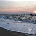 Cape May Sunset Beach Nj by Eric  Schiabor