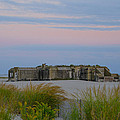 Cape May Wold War Two Concrete Bunker by Bill Cannon