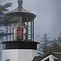 Cape Meares Lighthouse by Angie Vogel