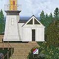 Cape Meares Lighthouse April 2013