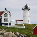 Cape Neddick Lighthouse by Christiane Schulze Art And Photography