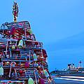 Cape Neddick Lighthouse Christmas by Randy Duchaine