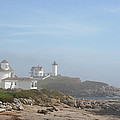 Cape Neddick Lighthouse IIi by Christiane Schulze Art And Photography