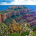 Cape Royal On North Rim Of Grand Canyon-arizona by Ruth Hager