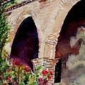 Capistrano Arches by Mary Benke