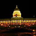 Capital Building In Utah Salt Lake City by Jeff Swan