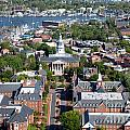 Capital Of Maryland In Annapolis by Bill Cobb
