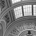 Capitol Architecture - Bw by Jenny Hudson