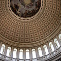 Capitol Cupola Washington Dc by Christiane Schulze Art And Photography