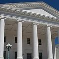 Capitol Pillars - Richmond by Christiane Schulze Art And Photography