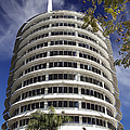 Capitol Records Building 2 by Endre Balogh