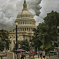 Capitol Storm by Terry Rowe