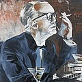 Capote By Hoffman by Kevin J Cooper Artwork