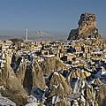 Cappadocia In Winter by Ayhan Altun