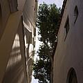 Capri - The Mediterranean Sun Painting Playful Shadows On Facades by Georgia Mizuleva